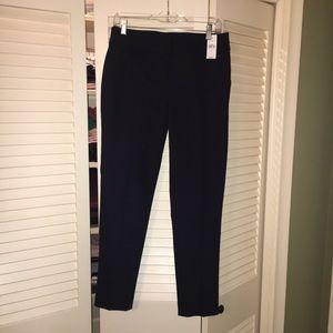 LOFT Navy Marisa fit skinny ankle pants